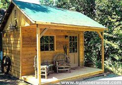 Canmore Cedar Cabins | Small Rustic Cabin Plans, Kits & Designs