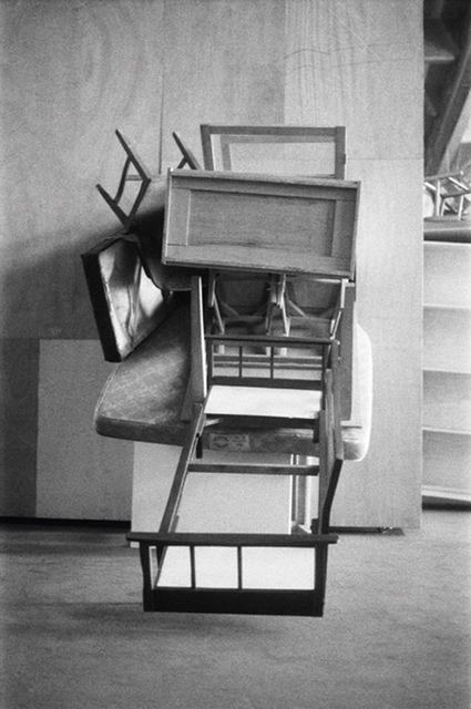 Perna Frontal Fotografía en blanco y negro, José Bechara. Transformación.