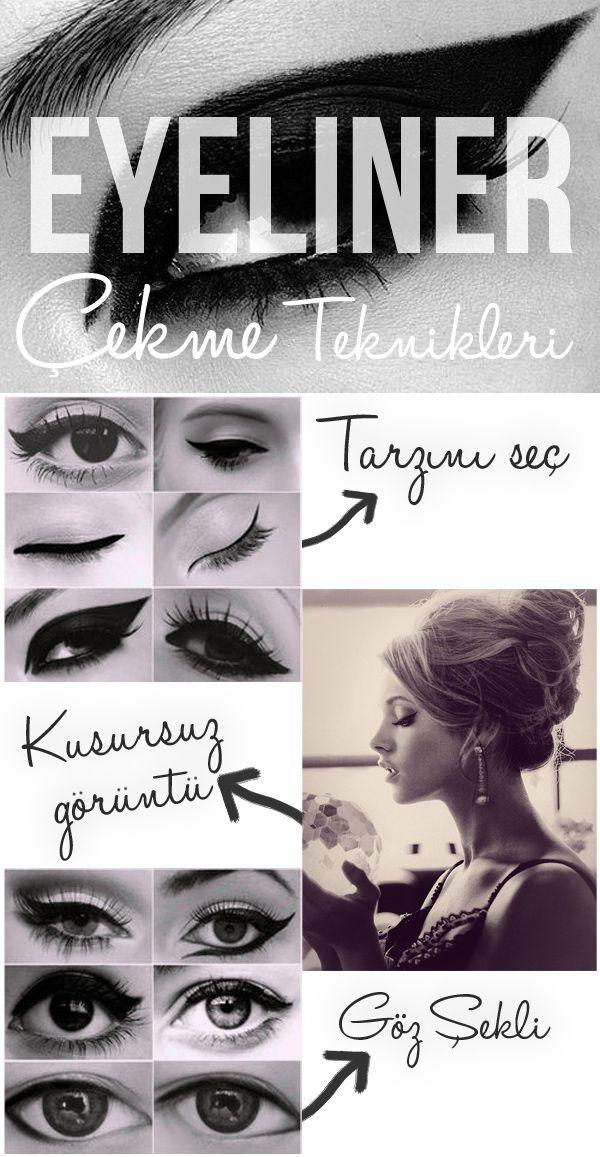 @Buse Terim özetledi eyeliner teknikleri