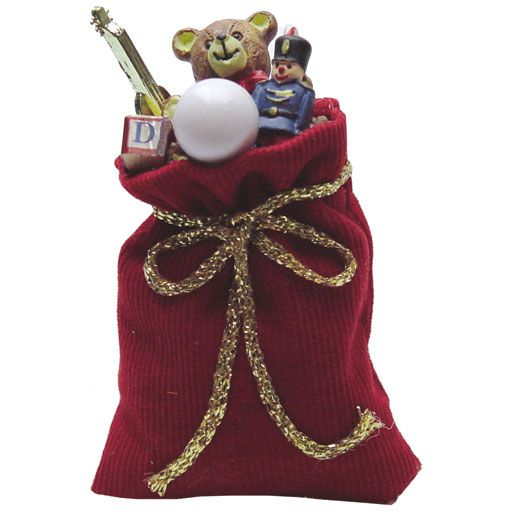 Santa S Bag Of Toys : Images about christmas village toy store on pinterest