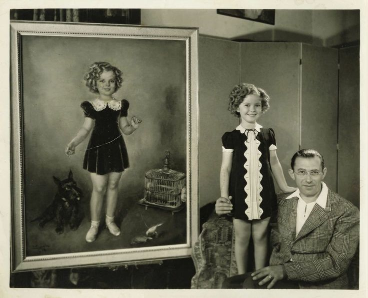 Shirley Temple and Tino Costa