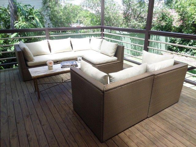 Interiors Addict at home: our new outdoor relaxing space. Square BalconyIkea  OutdoorOutdoor FurnitureOutdoor LivingIkea ArholmaWeber ...