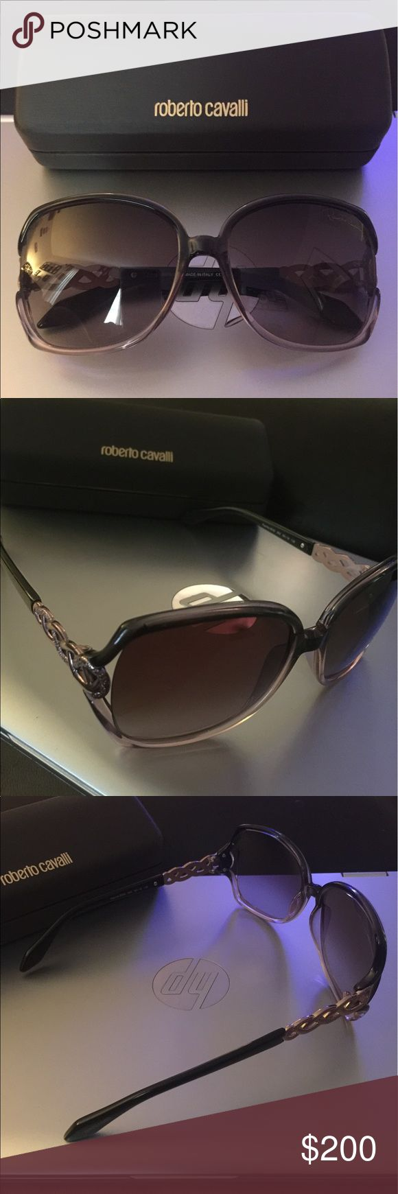 ROBERTO CAVALLI model PAPRIKA 653S color 05Z Brand new comes with box and cloth. Beautiful shades I just have too many. Roberto Cavalli Accessories Sunglasses