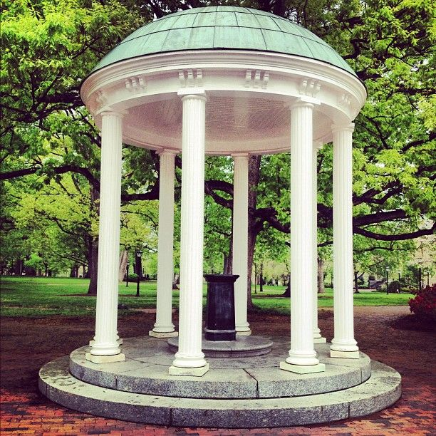The Old Well at UNC Chapel Hill.
