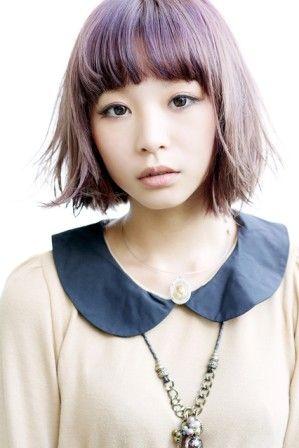 髪型 / ヘアスタイル / ボブスタイル / hair style-pin it from carden