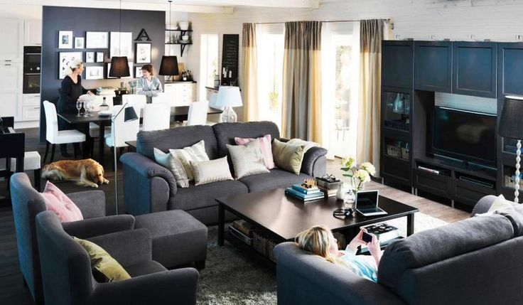 Ikea Living Room Ideas | Small living rooms, Small living and Living room  ideas