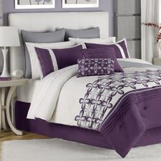 Mika 12 Piece Queen Comforter Super Set Decorating The