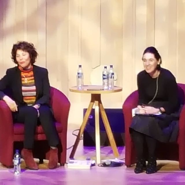 Ruby Wax How to be a Human... . Excellent  . #rubywax #human #commonsense #mindfulness #honesty #connection #happiness #humanity #frazzled #frazzledcafe #marksandspencer  #book #author #comedienne #ayewrite #ayewritefestival #ayewrite2018 #bookfestival #warrior #warriorwomanproject