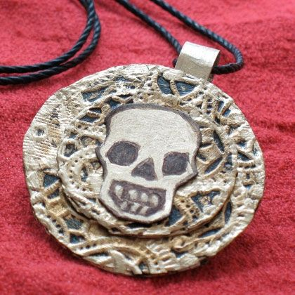 Create an Aztec Coin Medallion, a pirate craft inspired by the movie Pirates of the Caribbean, with step by step instructions provided by Family.Disney.com. Enjoy this fun craft activity with your kids and family.