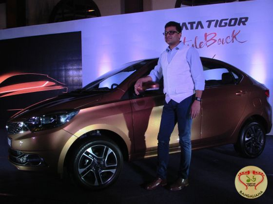Tata Motors announced the launch of the new Styleback Tata Tigor. Targeted for the youth, the car has stunning design to address the needs of the customer.
