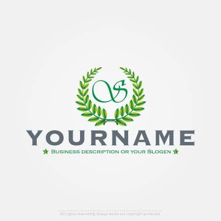 Design Initials Leaf Logo Online with Our Free logo Maker
