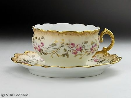 LIMOGES tea cup - Tableware shop Villa Leona Moltrasio #food