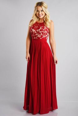 Share to save 10% on  your order instantly!  An Elegant Affair Maxi Dress: Cranberry