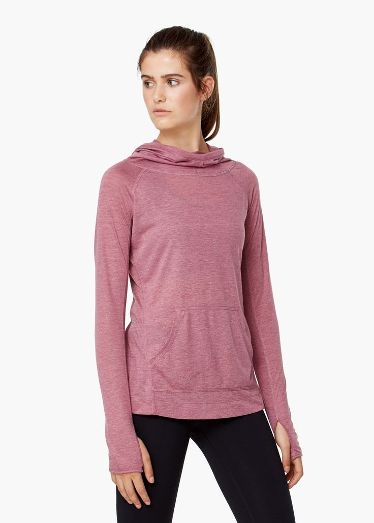 Fitness & running - tricou marmorat - Tricouri pentru Femei | MANGO