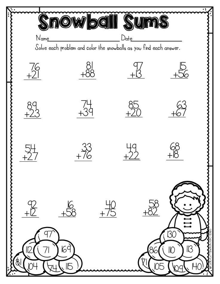 How To Survive The Winter Holidays As A Teacher Caffeinated And Creative Winter Math Worksheets Second Grade Math 2nd Grade Worksheets Winter worksheets for second grade