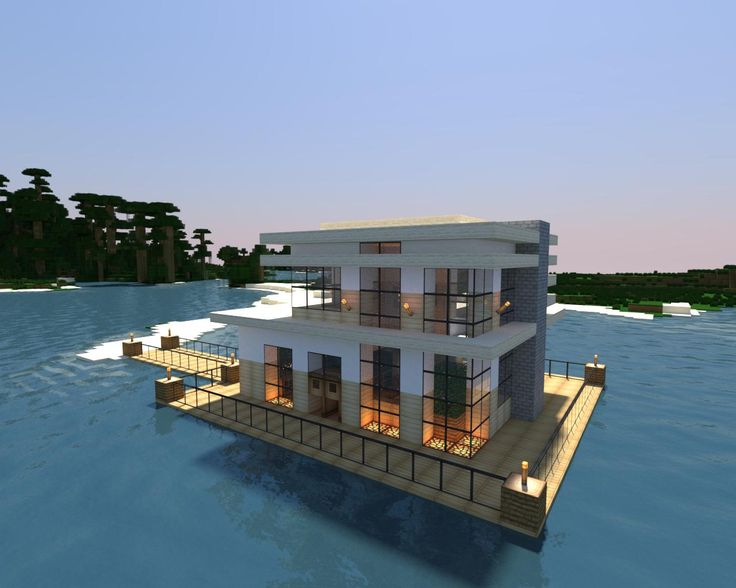 Minecraft Modern Lake House