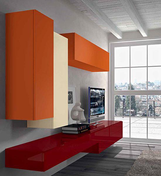 Wonderful Wall Unit by Tisettanta