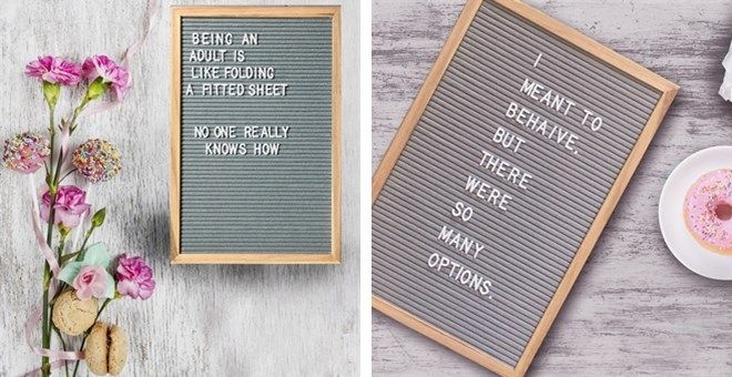 12 x 18 Letter Boards | Jane