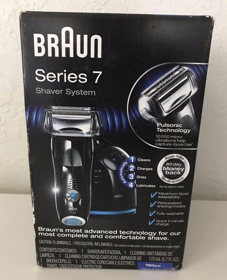Braun Series 7 760cc Pulsonic Men S Shaver System Electric Shaving Razo Shaving Shaving Razor Mens Shaver