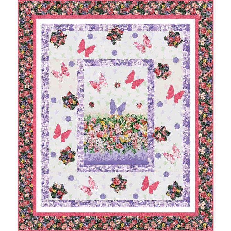 Fairy Dream Quilt By Heidi Pridemore Dreamland Flower