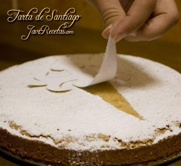 Tarta de Santiago.  this almond tart is delicious.