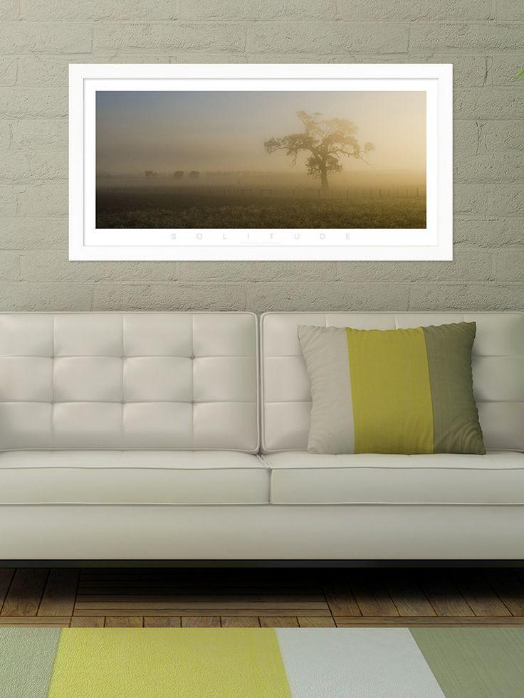 Solitude Lonely Tree 2 Panoramic