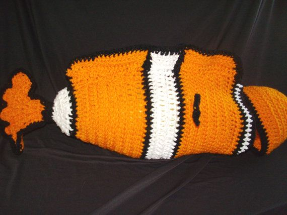 Nemo baby costume cocoon by DarleneMoon on Etsy, $40.00