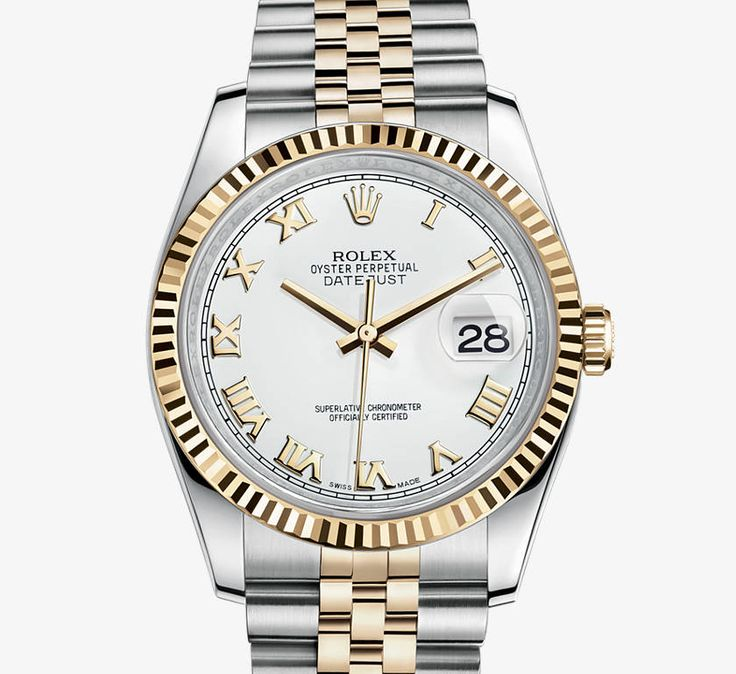 Two tone Rolex Datejust.  #timeless