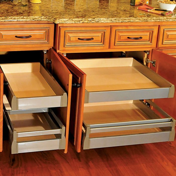 1 1 4 Quiktray Rollout Shelf Systems In 2020 Kitchen Cabinet Storage Kitchen Storage Kitchen Remodel