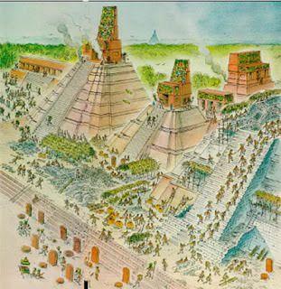 PreClassic Mayan city
