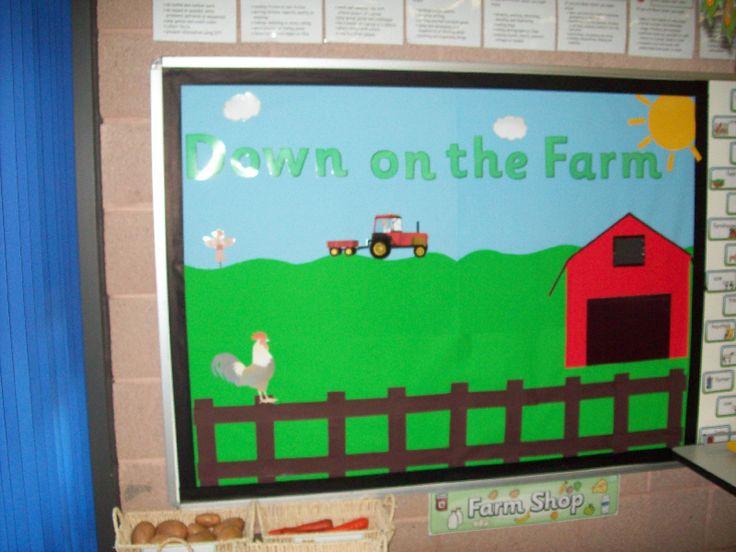 Down on the Farm classroom display photo - Photo gallery - SparkleBox