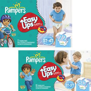 Pampers Easy Ups Boys' Training Pants (Choose Your Size)