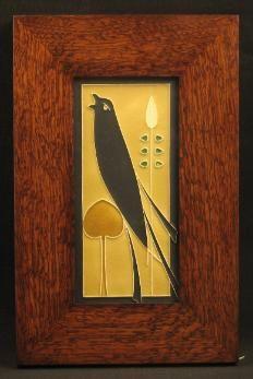 Arts and Craftsman   Framed Motawi Tiles