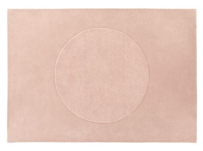 Mateo vloerkleed, 160 x 230 cm, schemerroze wol