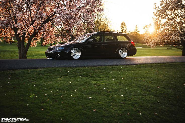 Slammed & Stanced Subaru Legacy Outback Wagon (19)