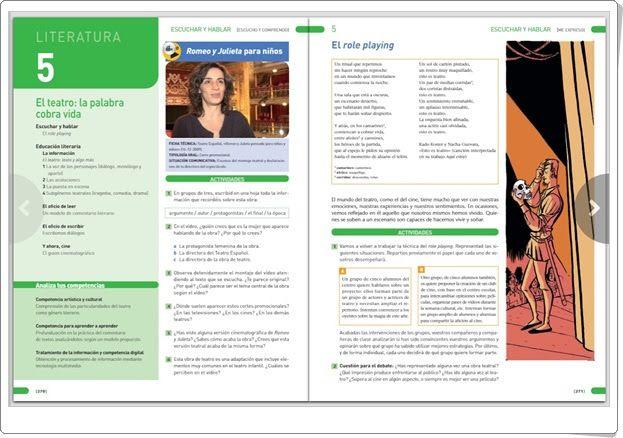 Unidad 15 de Lengua Castellana y Literatura de 1º de E.S.O. (Unidad 5 de Literatura)