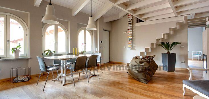 Abitazione privata: fornitura e posa in opera parquet - www.bebpavimenti.it