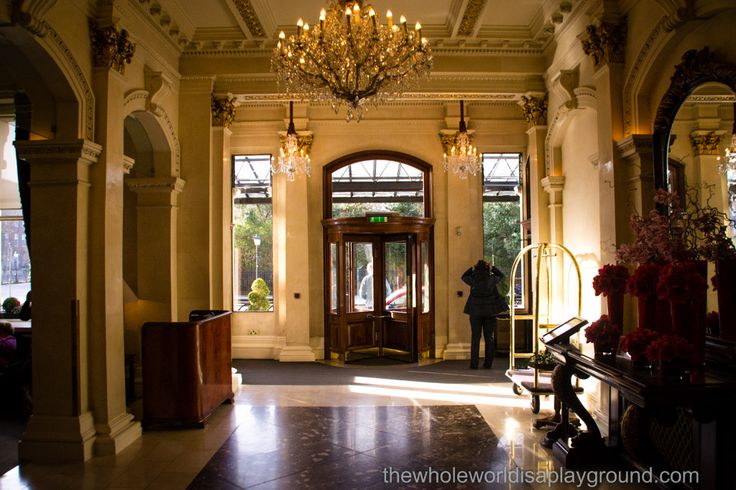 Valentines night at the iconic Shelbourne Hotel in Dublin. Read more at: http://www.thewholeworldisaplayground.com/shelbourne-hotel-dublin/