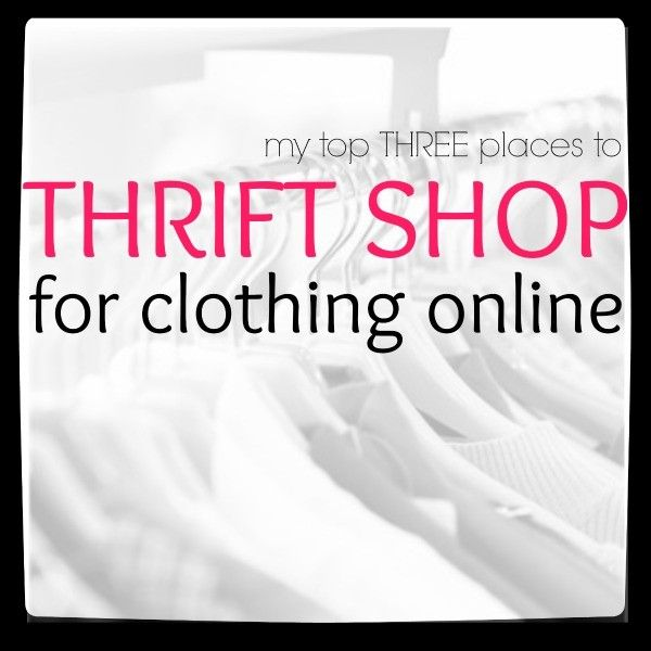 Thrift shop online