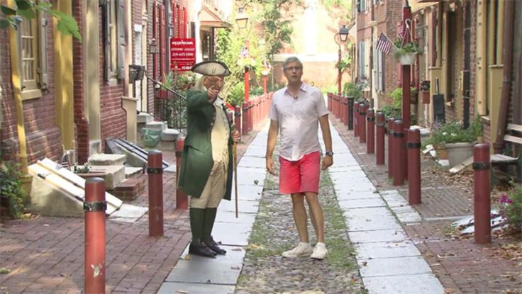 Mo Rocca tours Philadelphia, a city of firsts