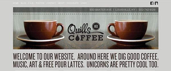 Amazing Coffee Websites Designs