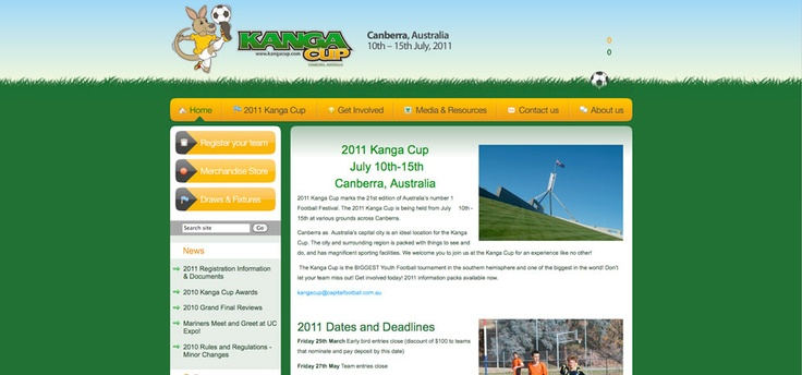Kanga Cup Website  http://www.sportingpulse.com/assoc_page.cgi?client=1-8337-0-0-0