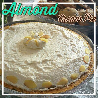 EmilyCanBake: Almond Cream Pie