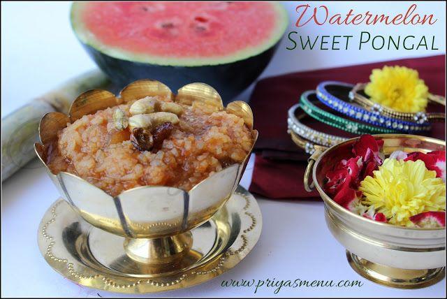 http://www.priyasmenu.com/2018/01/watermelon-sweet-pongal.html
