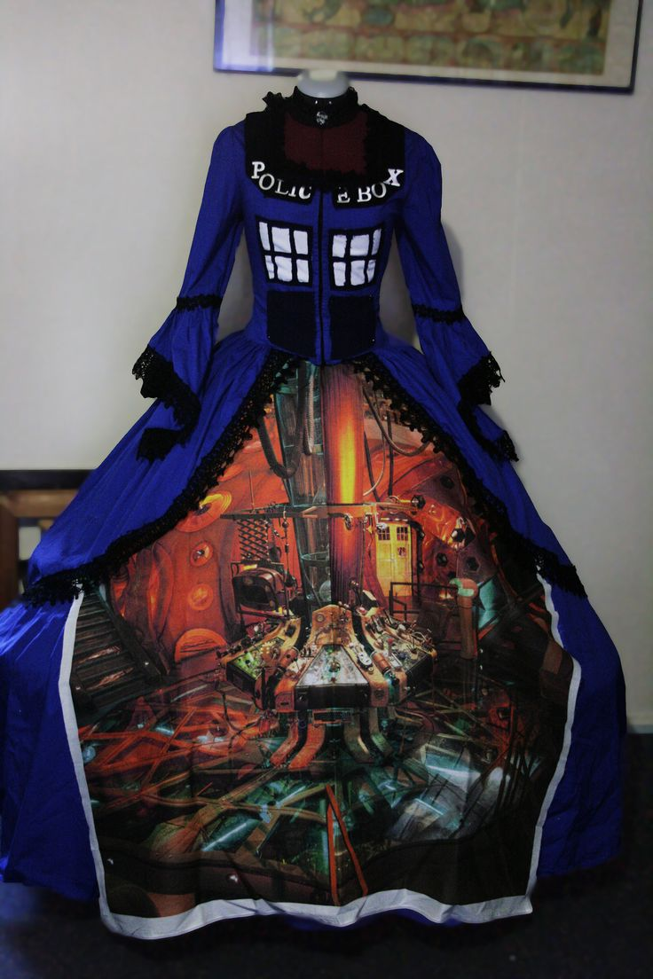 Wicked cool Dr.Who dress