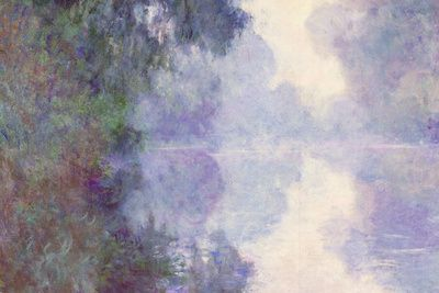 Claude Monet The Seine at Giverny Morning Mist Poster Premium Poster at AllPosters.com