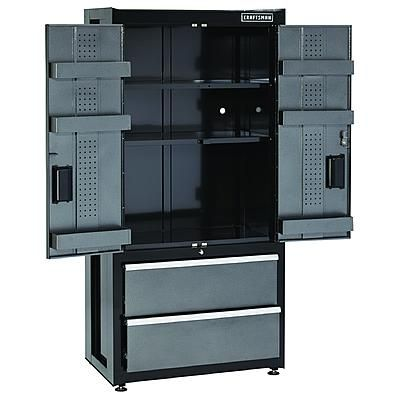 Craftsman Storage Cabinets   Craftsman -Premium Heavy-Duty Floor Cabinet - Trio