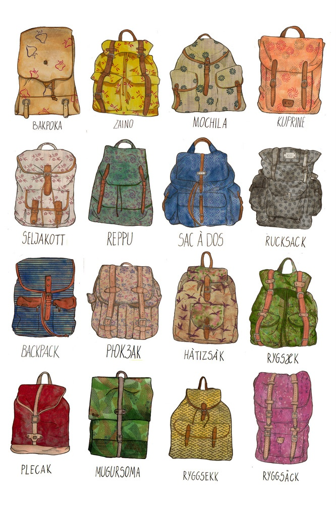 Pick a backpack and let's go!