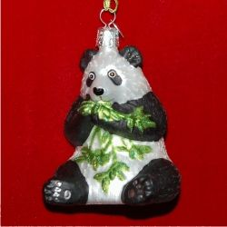 Kung Fu Panda Ornament Glass