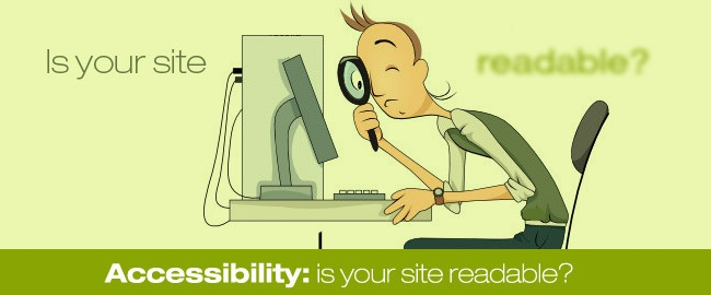 Accessibility: is your site readable? | Your Inspiration Web